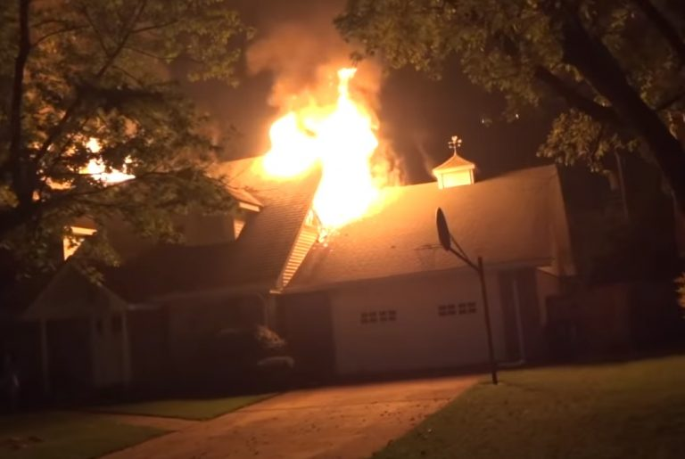 Fire Damage in Noel Missouri