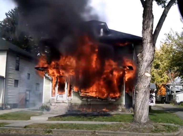 Fire Damage in La Plata Missouri