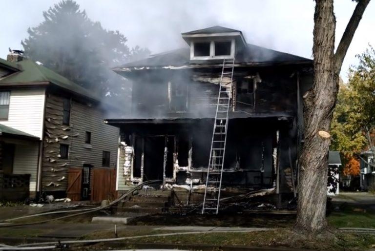 Fire Damage in Goodman Missouri
