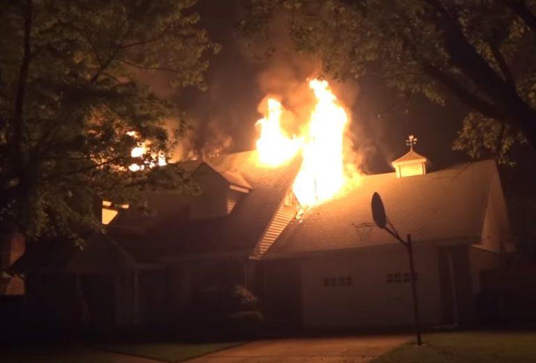 Fire Damage in Warrensburg Missouri