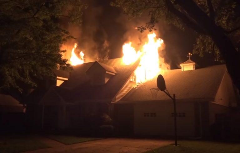 Fire Damage in Cassville Missouri
