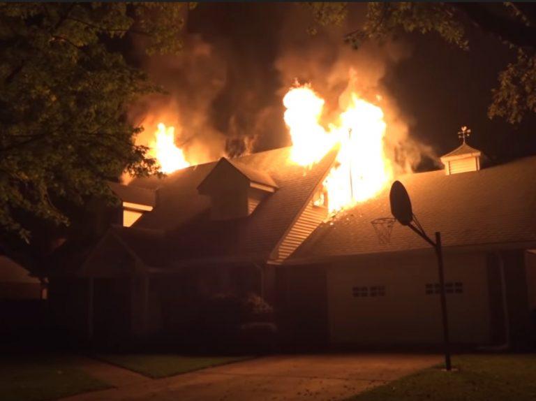 Fire Damage in Rock Port Missouri