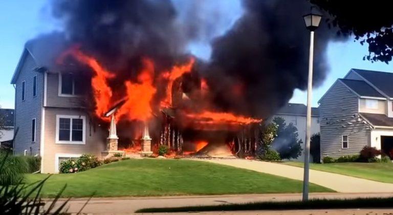 Fire Damage in Winfield Missouri