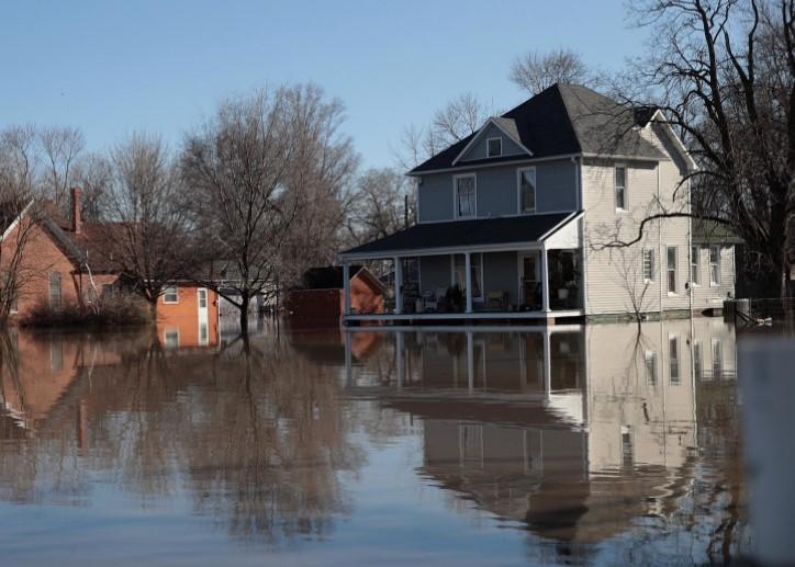 Flooded Home in Willard Missouri