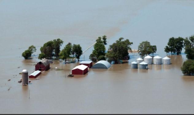 Flood Damaged Floors in Noble Oklahoma