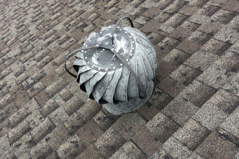 Hail Damaged Asphalt Shingles in Trenton Missouri