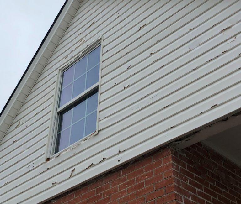 Hail Damaged Siding in Purdy Missouri