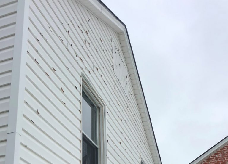Hail Damaged Siding in Centralia Missouri