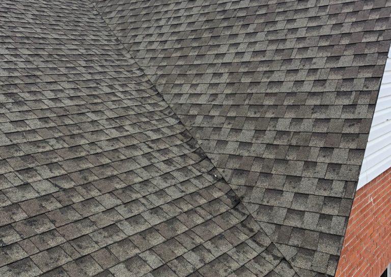 Hail Damaged Roof Shingles in Osage Beach Missouri
