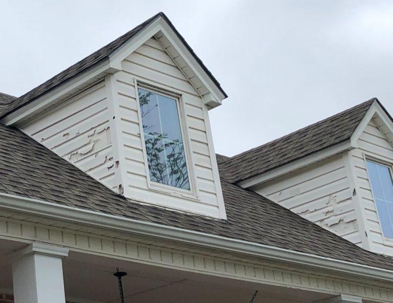Hail Damaged Asphalt Shingles in Excelsior Springs Missouri
